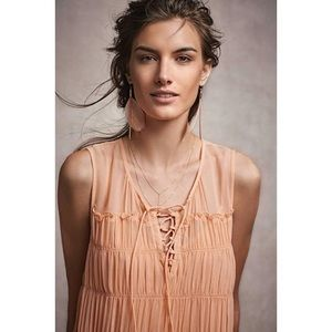 Anthropologie Tops - | Anthropologie | Floreat Calla Lace Up Tank